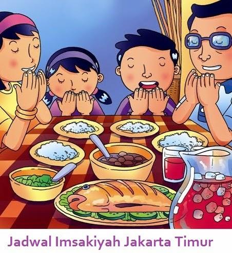 Jadwal Puasa Imsakiyah Jakarta Timur 1436 Hijriyah