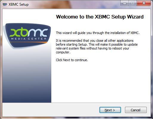 comment installer xbmc sur pc