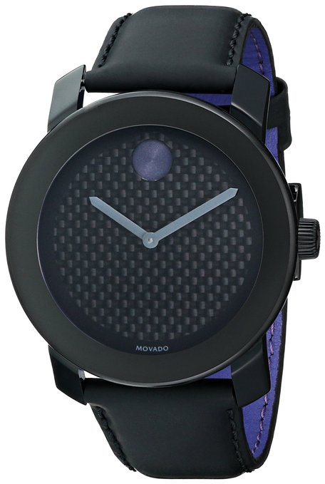 Movado Men's 3600170 Bold Analog Display Swiss Quartz Black Watch