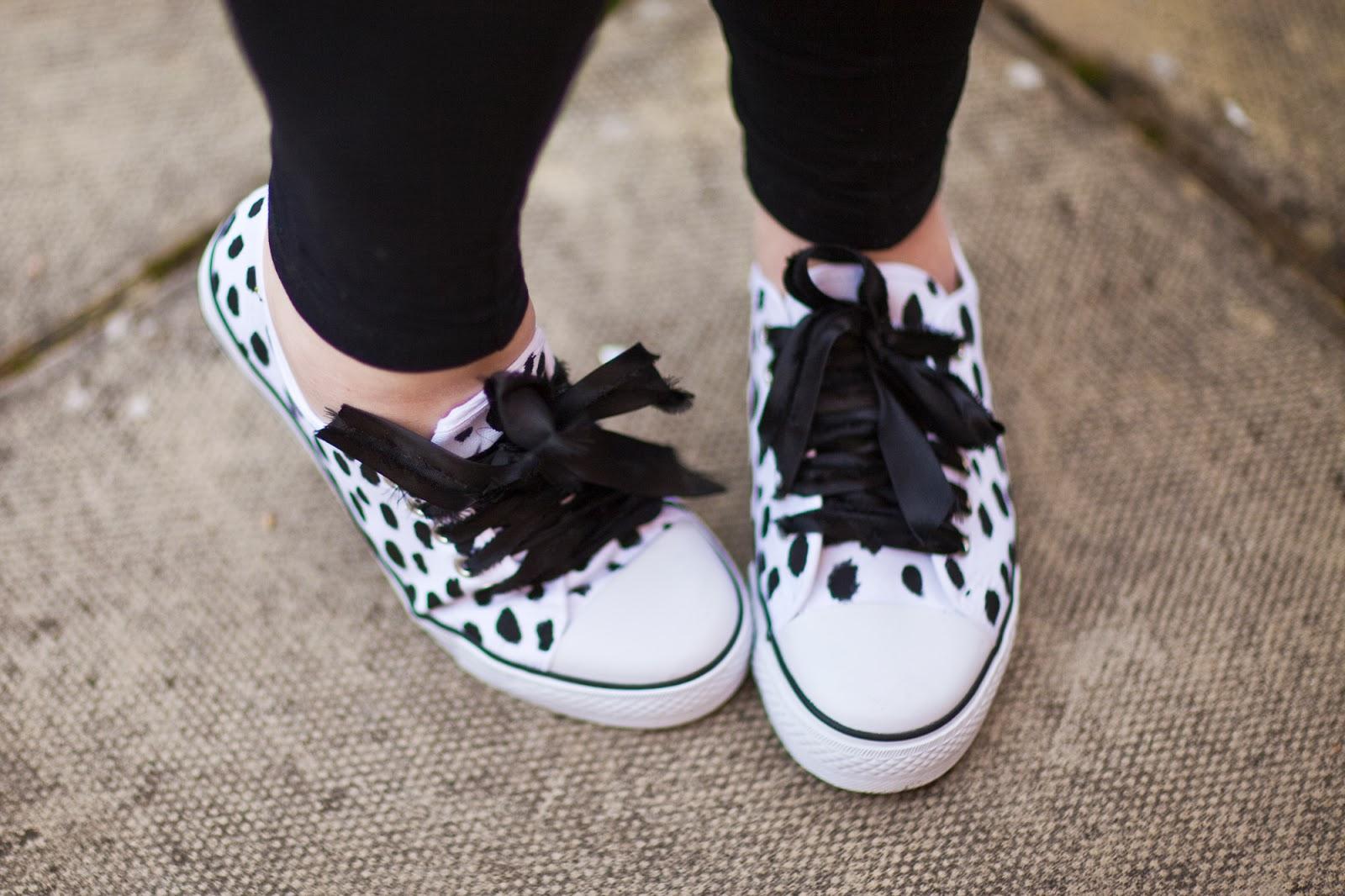 Dalmatian print trainers 5a
