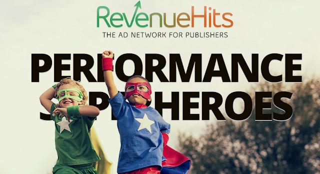 بديل ادسنس RevenueHits بدون قوانين و قبول المواقع فوري !