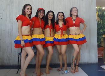 vestuario para danza mapalè