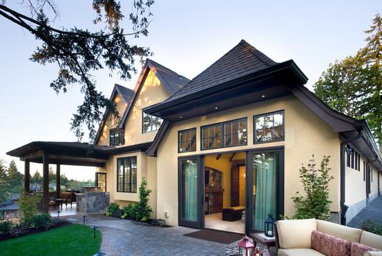 Fachadas casas modernas fachadas de casas de campo peque as - Fachadas casas de campo ...