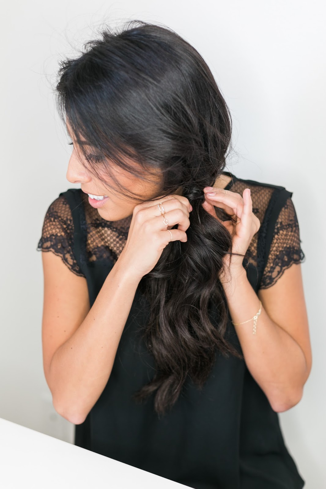 hairstyles for the holidays, easy 5 minute hair dos, target holiday