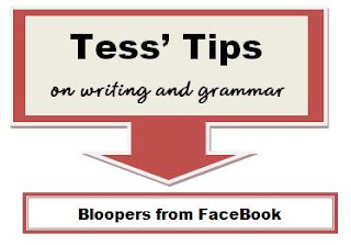 Bloopers from Facebook by Charlene Tess