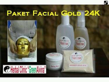 Paket Facial Gold 24K