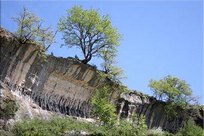 Curiosas formaciones cerca de la Fuente Carratán