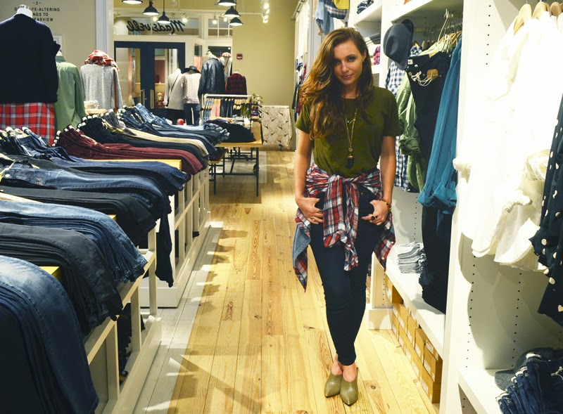 Madewell St. Louis Location Fashion Blogger LouFest Festival Fashion