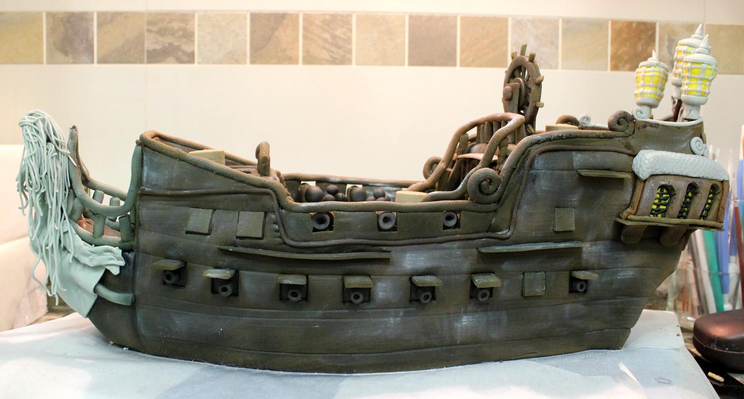 Pin Barcos Piratas Antiguos Restaurados Fotos Nombres Partes Pictures ...
