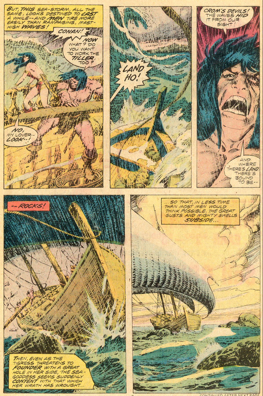 Conan the Barbarian (1970) Issue #70 #82 - English 4