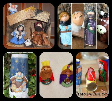 Inspiraci n n 3 recopilatorio de navidad decora y for Como decorar un belen de navidad