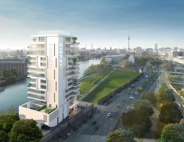 hochhauswelten berlin living levels 63m. Black Bedroom Furniture Sets. Home Design Ideas