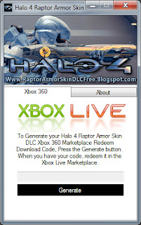 Learn How To Redeem the Halo 4 Raptor Armor Skin DLC Code On Xbox 360