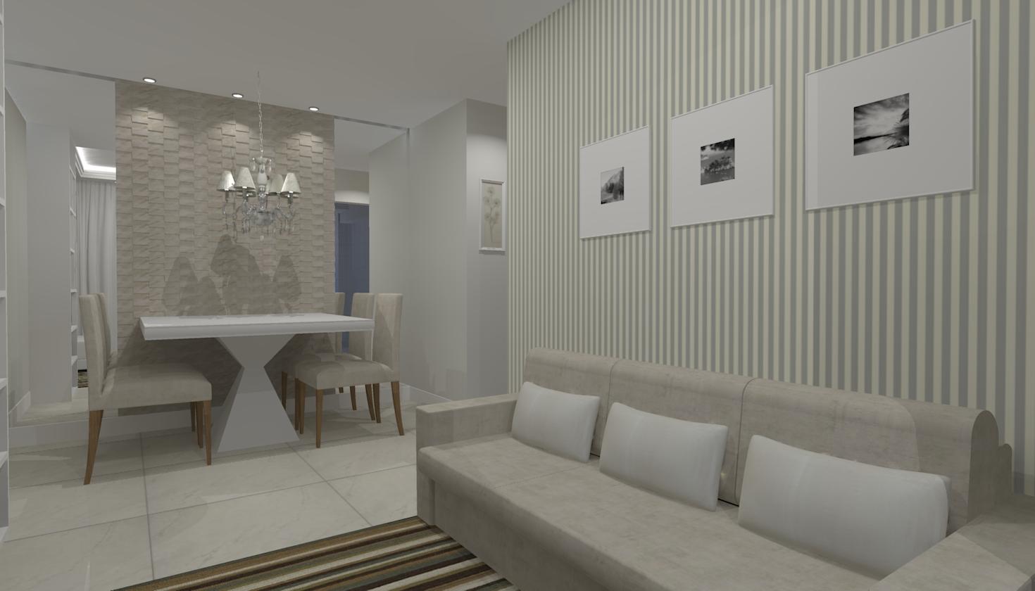 Sala De Estar Jantar E Tv ~ Salas de estar jantar e tv  Seu Sonho Desenhado