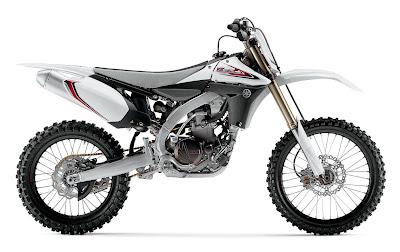 2012-Yamaha-YZ450F-White