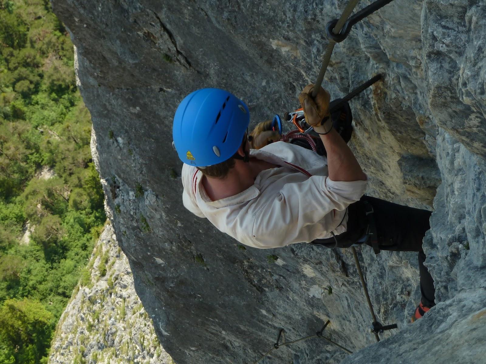 Kaiser Max Klettersteig : 4.6.2015 kaiser max martinswand klettersteig tourenblog lukas