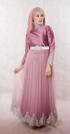 Model Gaun Dress Muslim Gamis