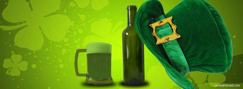 St. Patricks Day Facebook Cover