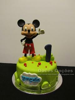 O Mickey no 1º aniversário do Gonçalo