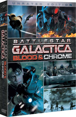 Battlestar Galactica: Blood and Chrome (2012) DVD