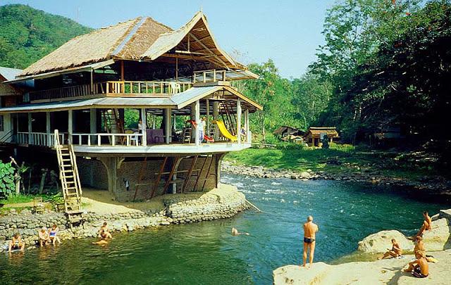 Objek wisata Bukit Lawang Sumatera Utara