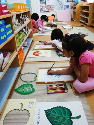 A BUSY CLASSROOM | Visit Local Montessori Schools
