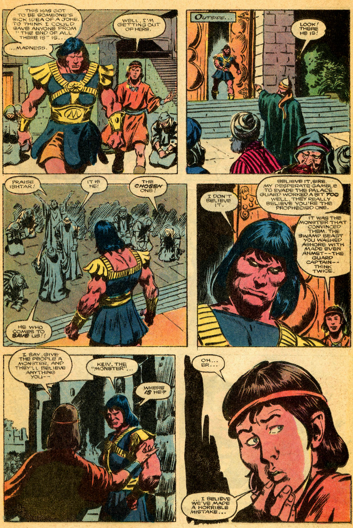 Conan the Barbarian (1970) Issue #179 #191 - English 12