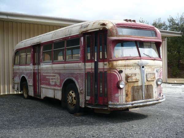 1945 White Motor Company Bus