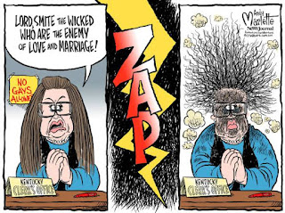 Kim Davis: Be careful what you wish for