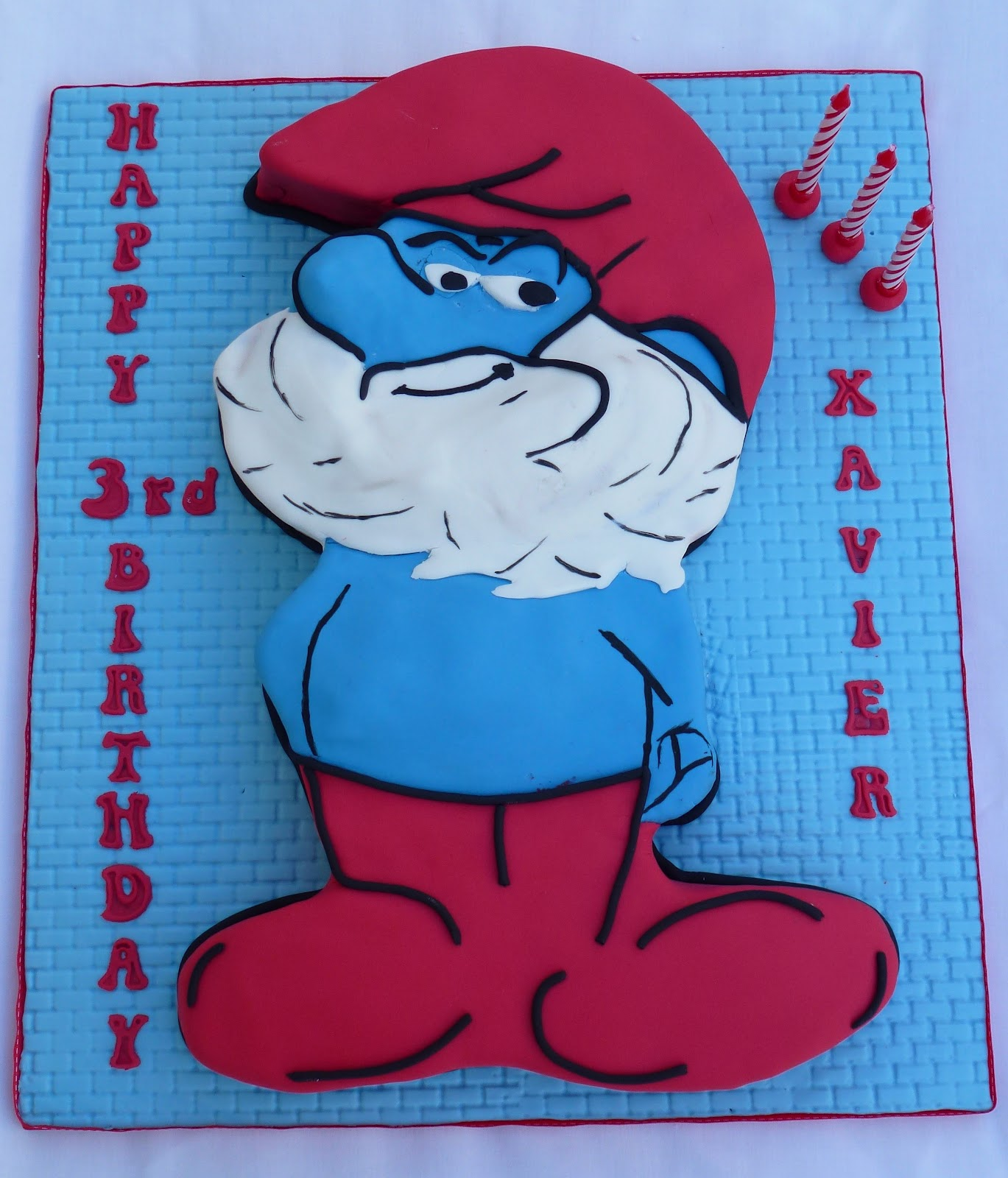 Cakes And Other Delights Papa Smurf