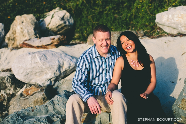"""moss beach engagement session"""