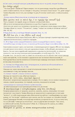 Толкование Феофилакта, Архиепископа Болгарского, на отрывок из послания к Евреям святого апостола Павла.ГЛАВА 8,10-13