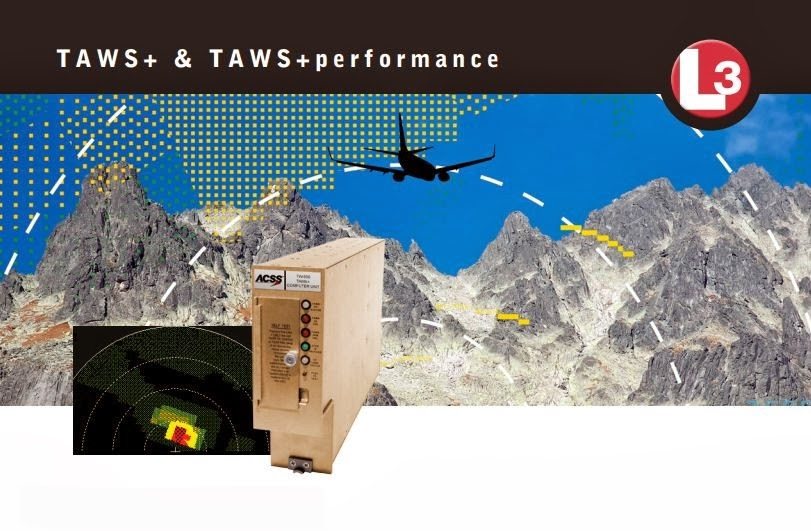 TAWS+ - это система класса A раннего предупреждения столкновения с землей в конструктиве 2-MCU