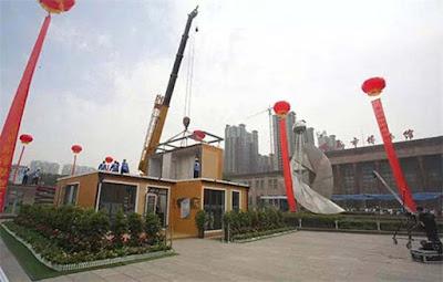 Κινεζική εταιρεία κατασκευάζει σπίτια σε 3 ώρες !!