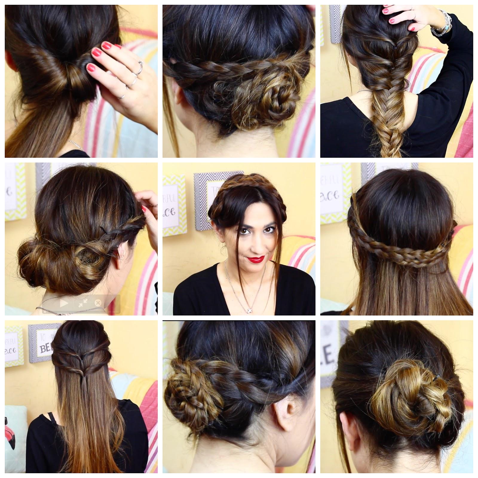 Videoblog new hair hairstyle 8 peinados f ciles y - Peinados faciles y rapidos paso a paso ...