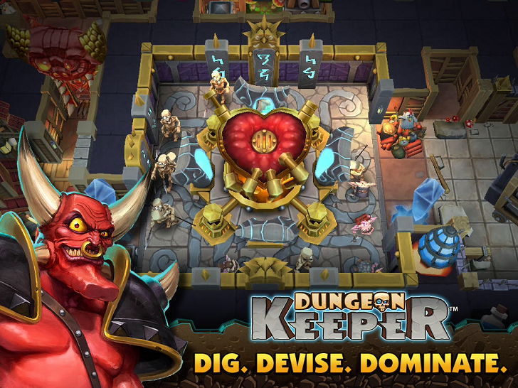 Dungeon Keeper Main Game App