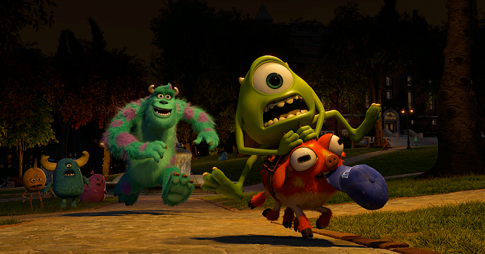 Monsters University screen cap