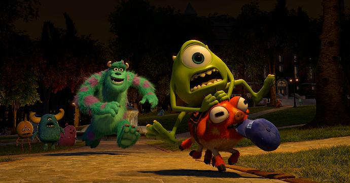 Monsters University screen cap