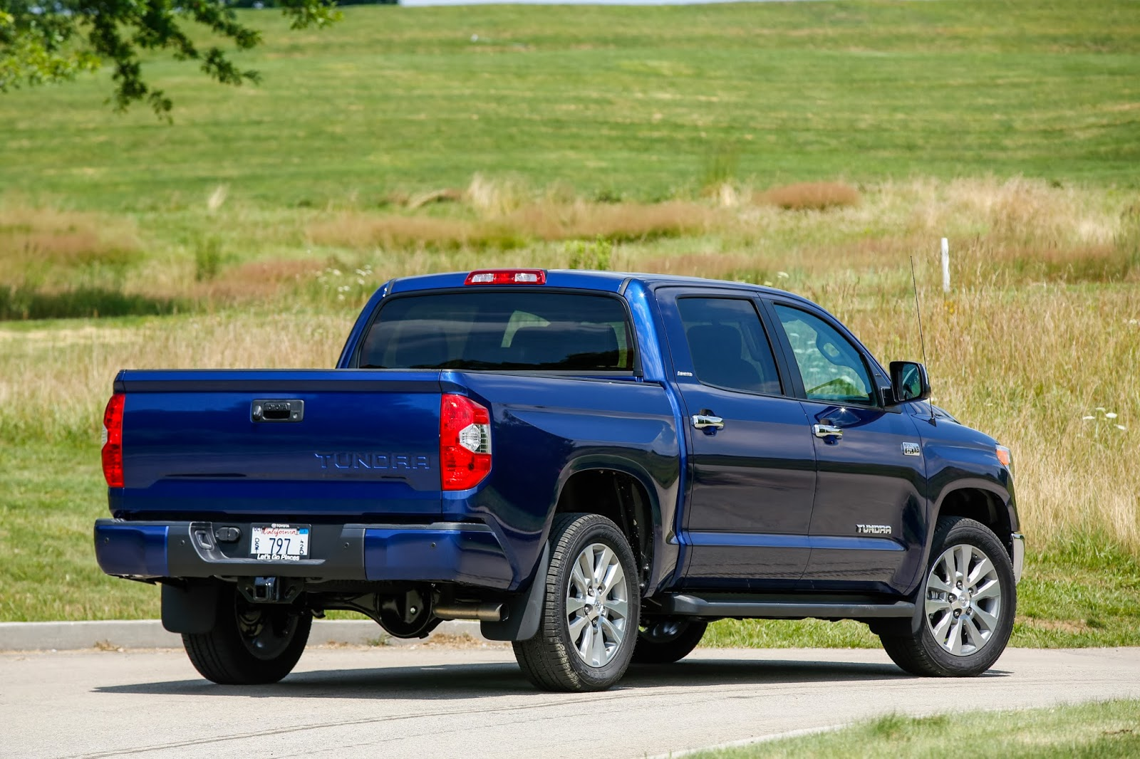 Rear view of 2014 Toyota Tundra Limited