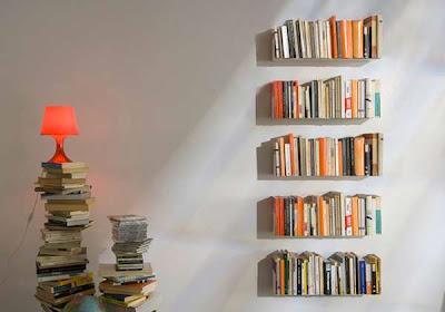 diseño libreria invisible