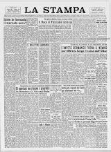 LA STAMPA 3 FEBBRAIO 1945