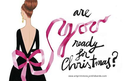 Ilustración navidad Jordi Labanda are you ready for christmas? -Missy Sale-