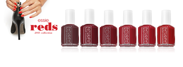 Essie Reds 2015 Collection