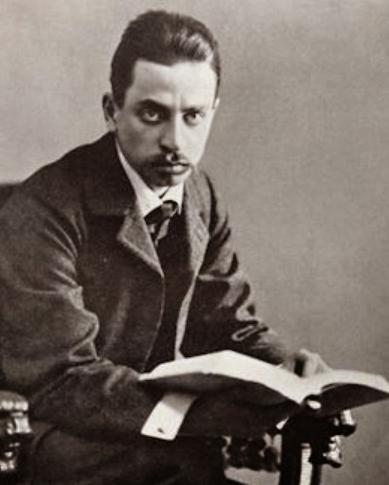 rainer rilke René karl wilhelm johann josef maria rilke (4 december 1875 – 29 december  1926), better known as rainer maria rilke was a bohemian-austrian poet and.