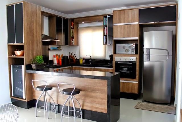 Construindo Minha Casa Clean Tendência de Cozinhas com Ilha Central