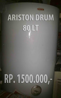 ariston drum 80 liter