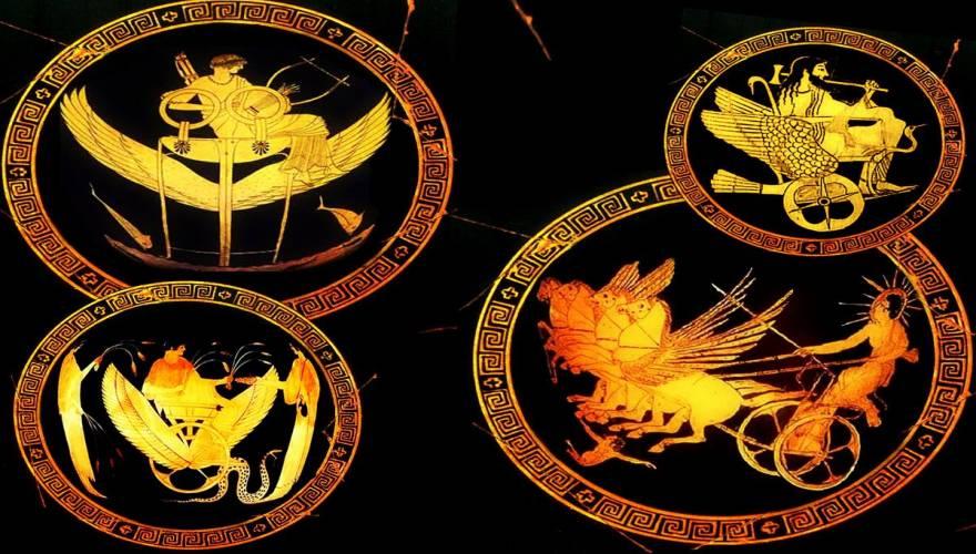 Τα Μυστήρια των Αρχαίων Ιπτάμενων Αρμάτων