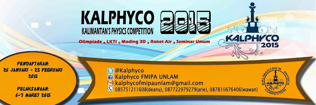 Kalimantan's Physics Competition 2015