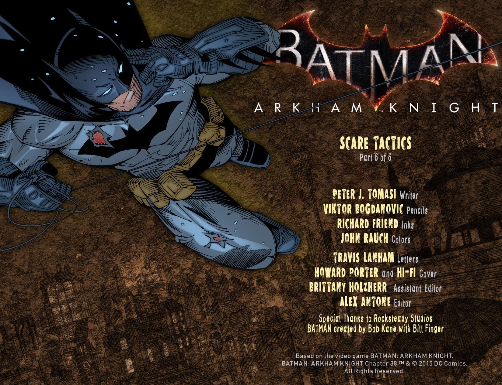 Batman: Arkham Knight [I] Issue #38 #40 - English 2