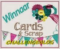 Winnaar C&S challenge 109 en 218